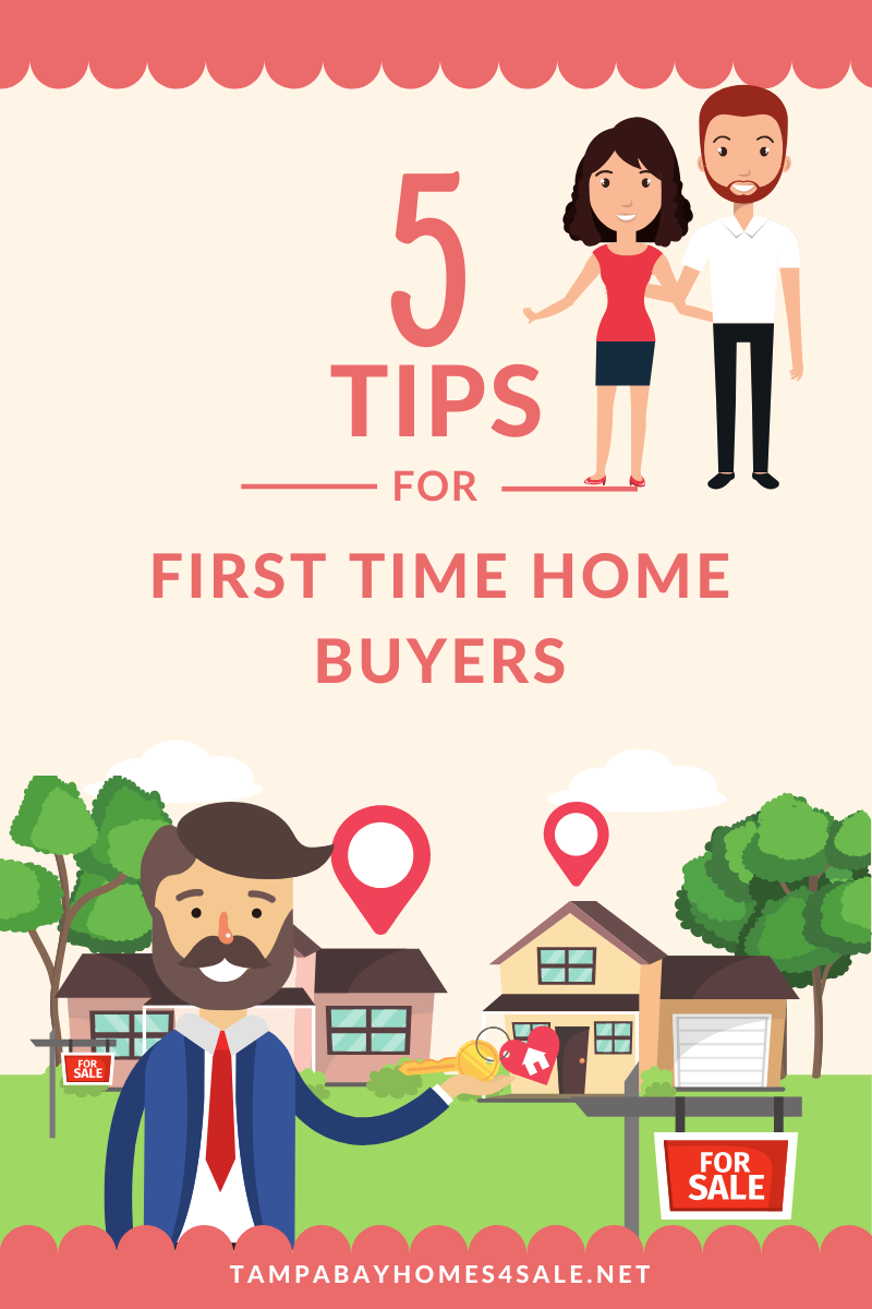5 Tips for First-Time Home Buyers