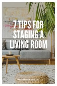 7 Tips for Staging a Living Room
